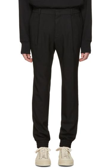 Juun.J - Black Cuff Trousers
