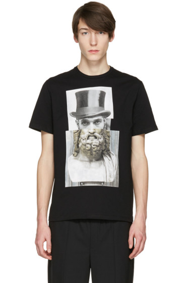 Neil Barrett - Black Top Hat T-Shirt