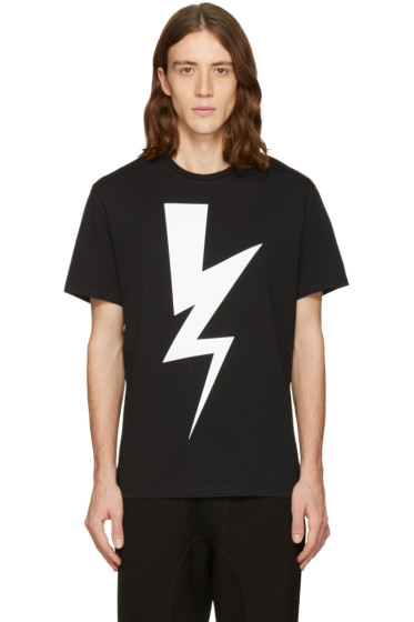 Neil Barrett - Black One Thunder T-Shirt
