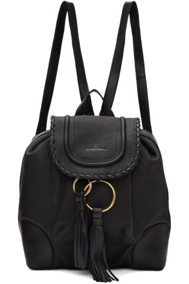 See by Chloé - Black Polly Backpack