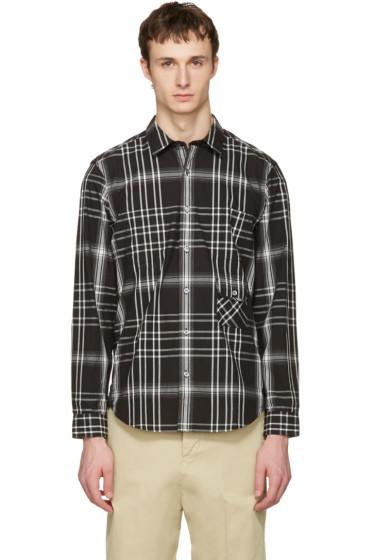 Burberry - Black Check Inworth Shirt