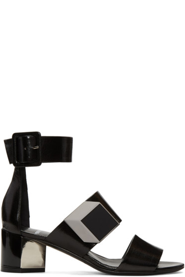 Pierre Hardy - Black De D'Or Illusion Sandals
