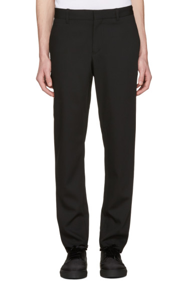 Ann Demeulemeester - Black Slim Trousers
