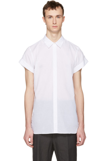 Ann Demeulemeester - White Button Shirt