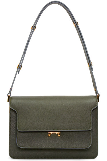 Marni - Green Trunk Bag