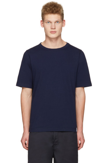 Marni - Navy Lacing T-Shirt