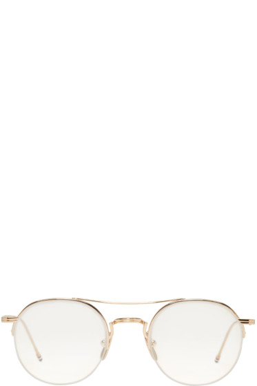 Thom Browne - Gold TB 903 Glasses