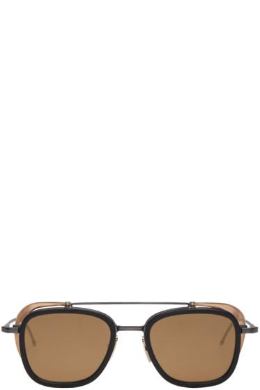 Thom Browne - Black TB 808 Sunglasses
