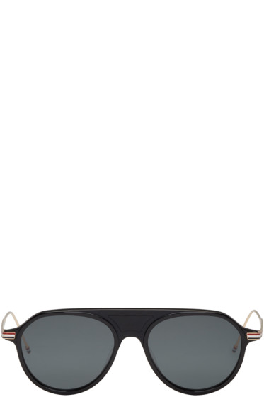 Thom Browne - Black TB 809 Sunglasses