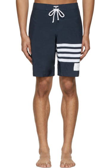 Thom Browne - Navy Board Shorts