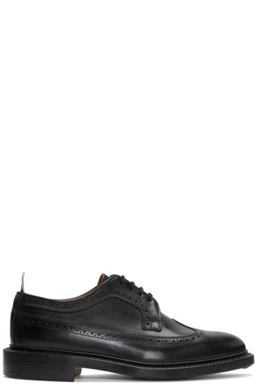 Thom Browne - Black Classic Longwing Brogues