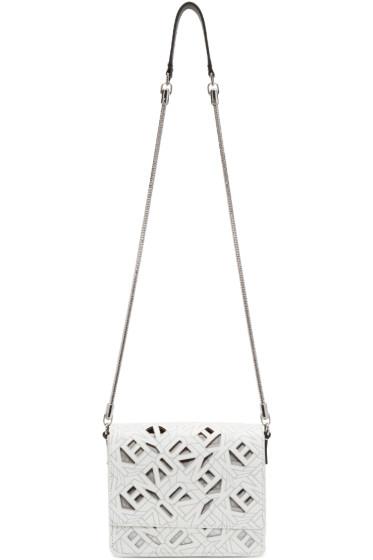 Kenzo - White Flying Logo Bag