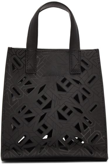 Kenzo - Black Flying Logo Tote Bag