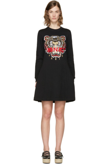 Kenzo - Black Chinese New Year Tiger Dress