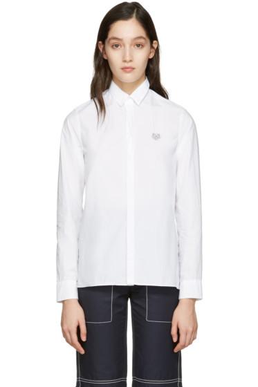 Kenzo - White Tiger Shirt