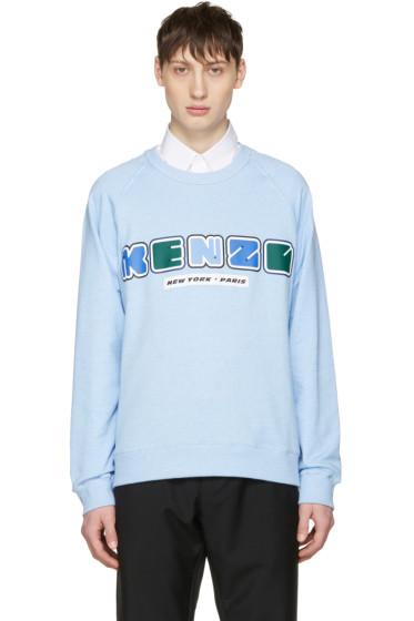 Kenzo - Blue Nasa Logo Pullover