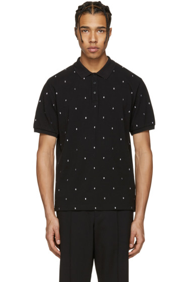 Kenzo - Black Embroidered Polo