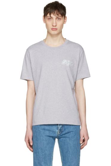 Kenzo - Grey Disco Logo T-Shirt