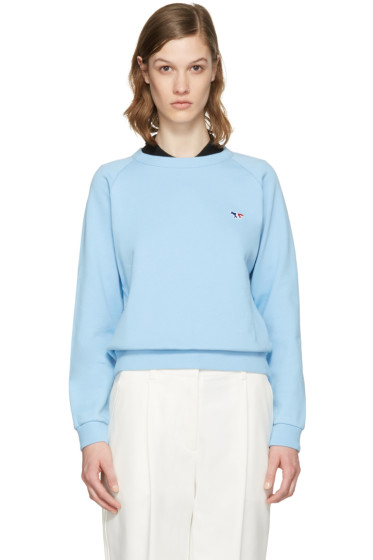 Maison Kitsuné - Blue Fox Patch Pullover