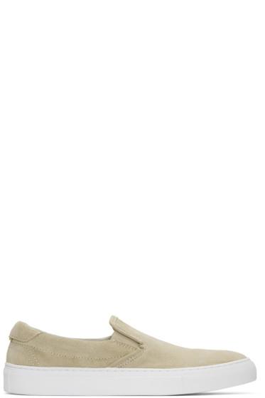 Diemme - Beige Suede Garda Slip-On Sneakers