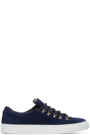 Diemme - Navy Suede Marostica Low Sneakers