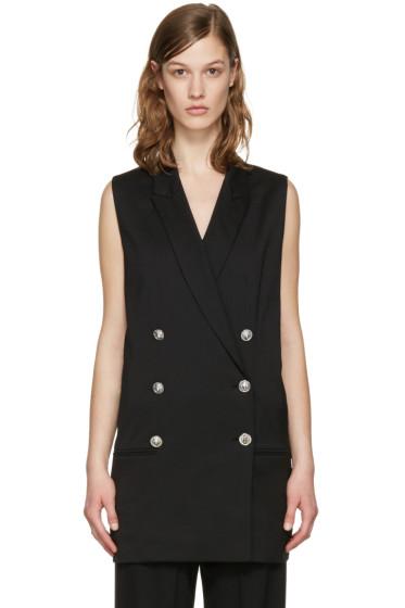 Versus - Black Open Back Waistcoat