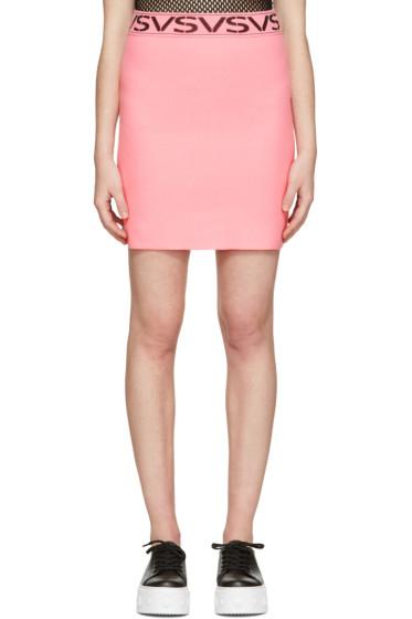 Versus - Pink 'VS'Miniskirt