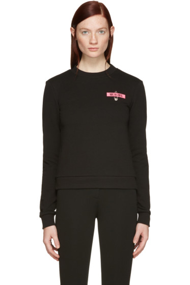 Versus - Black Patch & Safety Pin Pullover