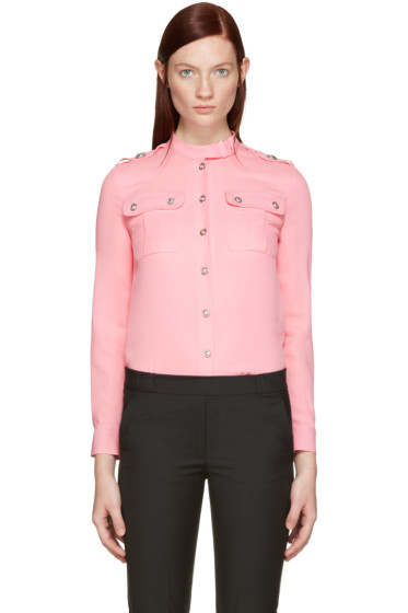 Versus - Pink Pockets Shirt