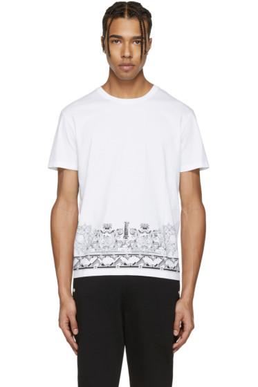 Versus - White Print T-Shirt