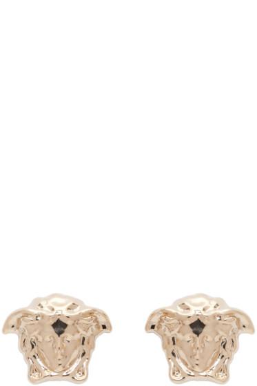 Versace - Gold Small Medusa Earrings