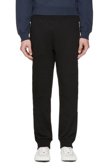 Versace - Black Zippered Lounge Pants