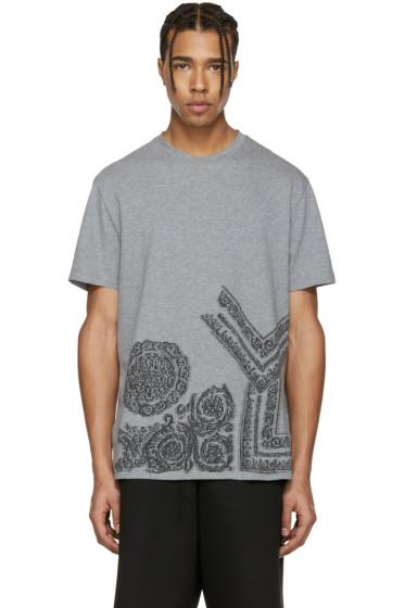 Versace - Grey Baroque T-Shirt