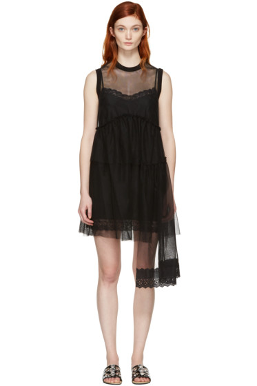 Simone Rocha - Black Tulle Dress