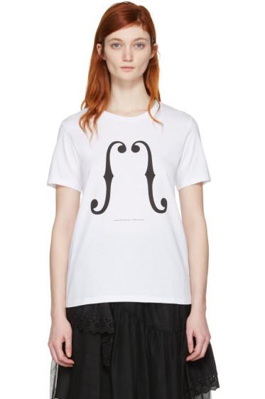 Undercover - White Violon T-Shirt