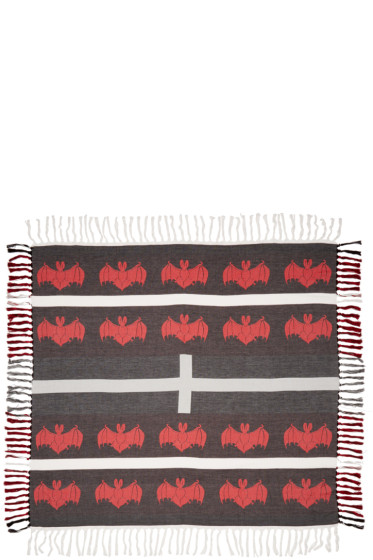 Undercover - Black & Red Bat Scarf