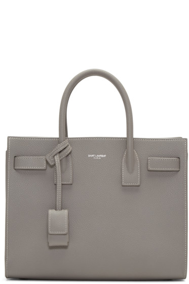 Saint Laurent - Grey Baby Sac de Jour Tote