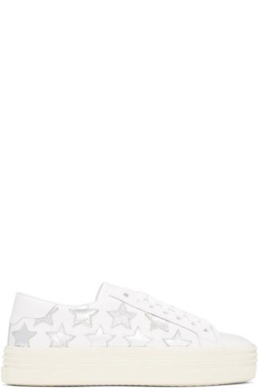 Saint Laurent - Off-White Court Classic Stars Platform Sneakers