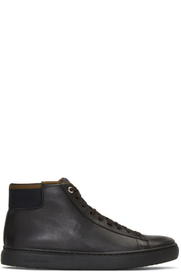 PS by Paul Smith - Black Shima High-Top Sneakers