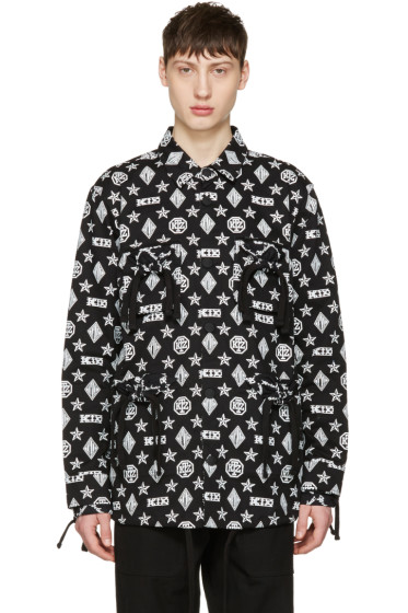 KTZ - Black Monogram Latin Jacket