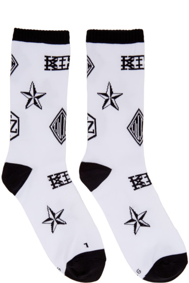 KTZ - White Logo Socks