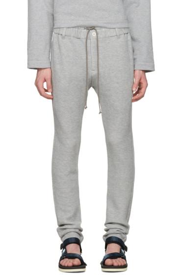 Sacai - Grey Sweats Lounge Pants