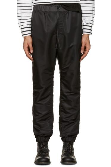 Sacai - Black MA-1 Trousers