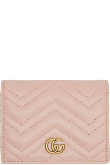 Gucci - Pink Marmont Wallet