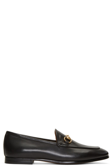 Gucci - Black Jordaan Loafers