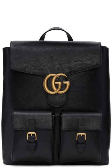Gucci - Black Marmont Backpack