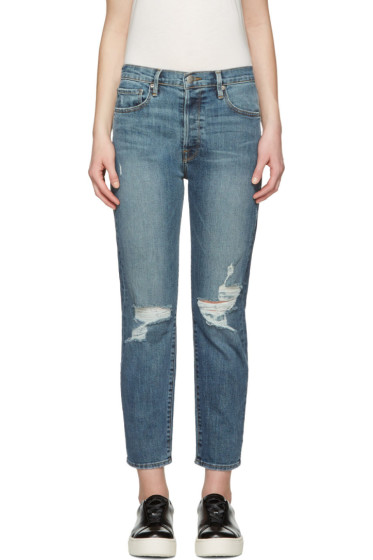 Frame Denim - Indigo Le Original Jeans