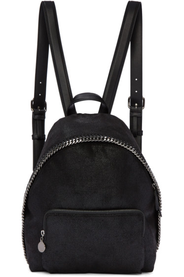 Stella McCartney - Black Small Falabella Backpack