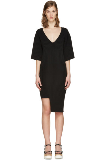 Stella McCartney - Black Ribbed Dress
