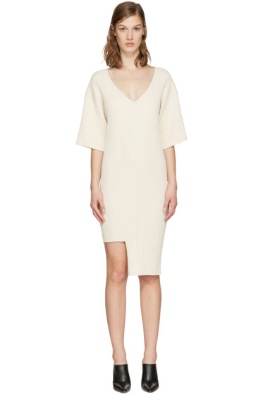 Stella McCartney - Beige Ribbed Dress